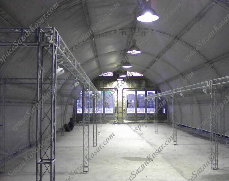 فروش و اجاره غرفه نمایشگاهی اسپیس سازان کوثر