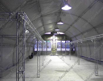 غرفه های نمایشگاهی اسپیس فریم