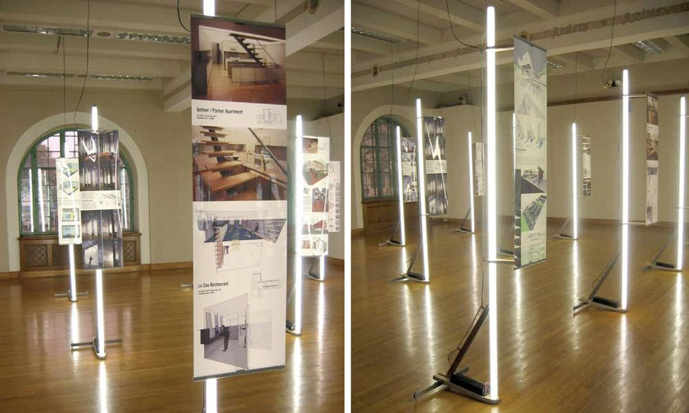 سازه های  موقت نمایشگاهی