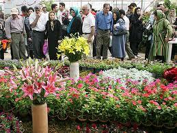 نمایشگاه تخصصی گل و گیاه و ماهیان تزئینی قائم شهر 95