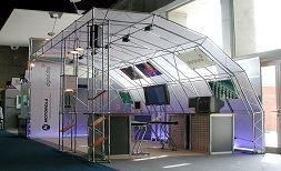 ویژگی غرفه نمایشگاهیهای برپا شده با اسپیس فریم