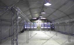 بررسی غرفه سازی داخل سالن با اسپیس فریم نمایشگاهی