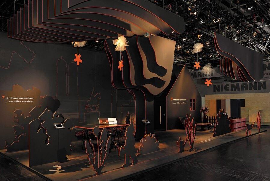 غرفه های نمایشگاهی خلاقانه جدید